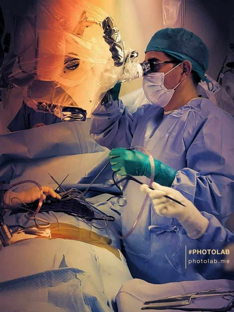 The doctor whose mission is to rebuild the spine